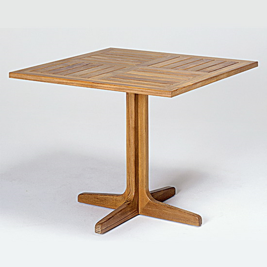 "Picture of 36"" SQUARE PEDESTAL TABLE"