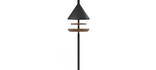 Picture of DECO BIRD FEEDER - POLE MOUNTED